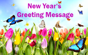 New Year's Greeting message